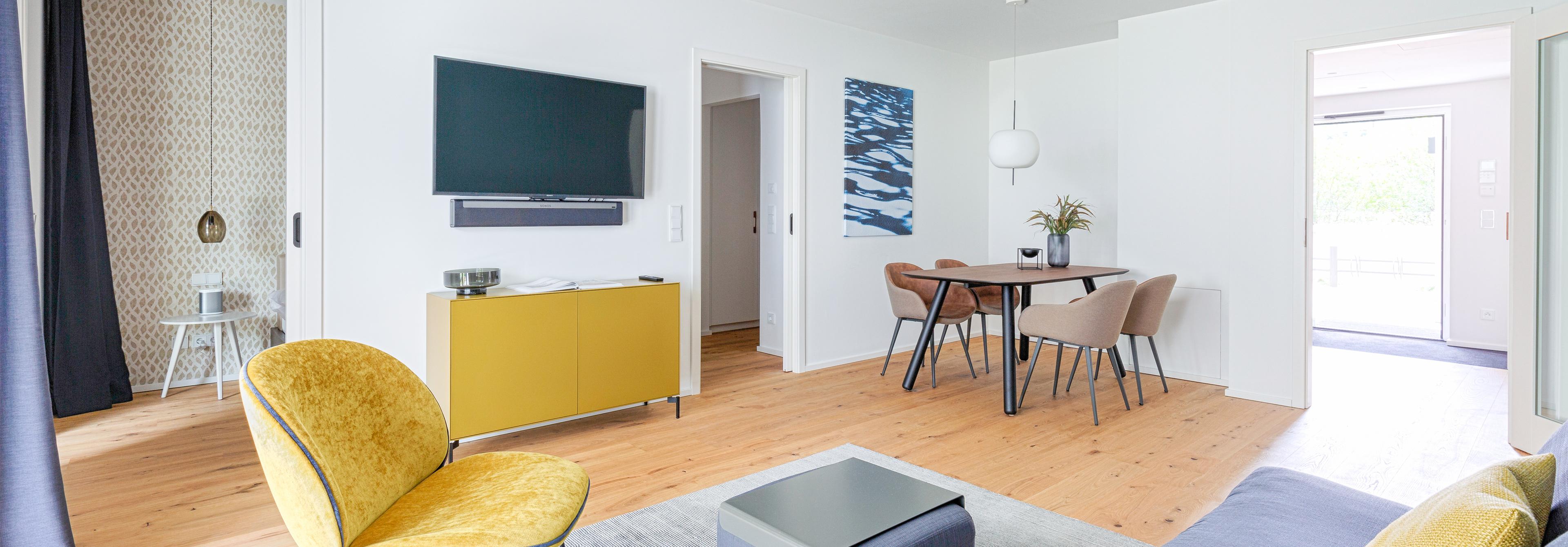 Apartments mit 2- bis 3,5-Zimmern bereits ab 2 Monaten ...